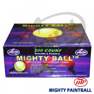 Mighty Ball 200 Round Retail Box