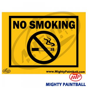 Safety Sign - No Smoking