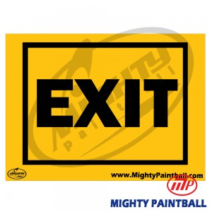 Safety Sign - EXIT