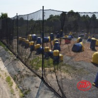 HYBRID Paintball Netting - 20' x 300'  - outdoor use