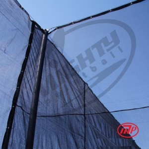 Paintball Netting - Fire Retardant - 12' x 200'  - indoor use