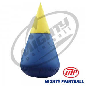 inflatable air bunker - cone - giant
