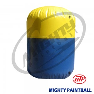 inflatable air bunker - cylinder- small
