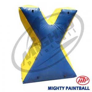 inflatable air bunker - X - medium