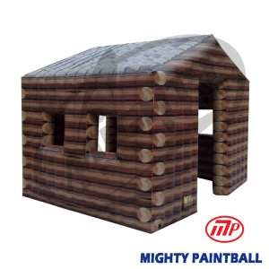 scenario bunker - log cabin