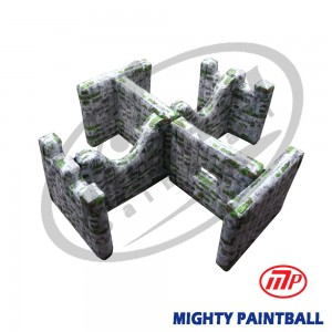scenario bunker - Walls - Doule H Shape