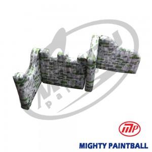 scenario bunker - Walls - Zag Shape
